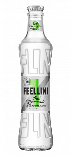 FEELLINI Thai Lemonade GIN & LIME-BASIL